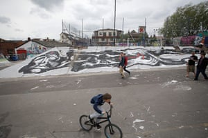 Bristol graffiti festival: Bristol graffiti festival in pictures