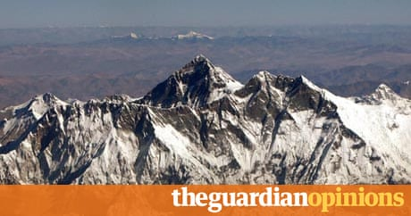 mount everest the view from the top world news the guardian