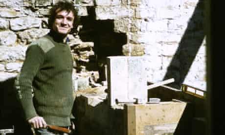 Ian Constantinides on site in Cumbria