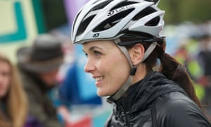 Victoria Pendleton ... 'People have said, I've never heard you laugh and smile so much'. Photograph: