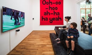 Jeremy Deller's Great Britain Pavilion at the Venice Biennale. Deller describes the work as 'wistfully aggressive'. Read Charlotte Higgin's and Adrian Searle's reviews from the Biennale.