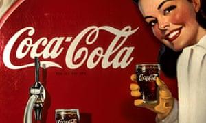 coca-cola retro advert