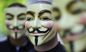 Anonymous activists: prosecutors said Jeremy Hammond's attacks were linked to the hacking group.