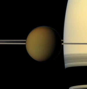 A month in Space: The colorful globe of Saturn's largest moon, Titan