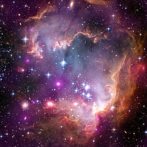 A month in Space: Taken Under the 'Wing' of the Small Magellanic Cloud
