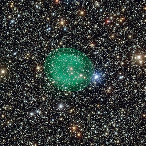 A month in Space: green planetary nebula IC 1295