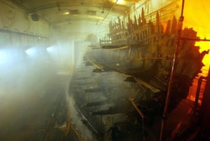 New Mary Rose museum: The wreck of the Mary Rose