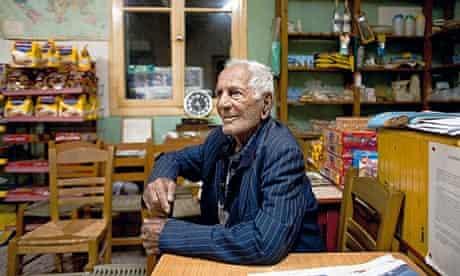 Greece longevity Gregoris Tsahas 100