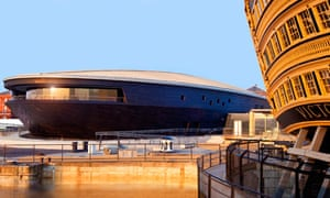 The Mary Rose Museum: suffers by comparison to HMS Victory.