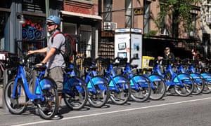 Citi Bikes New York