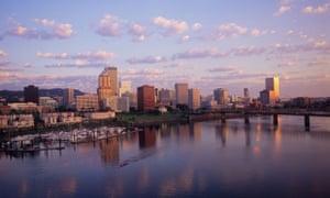 Sunrise in Portland