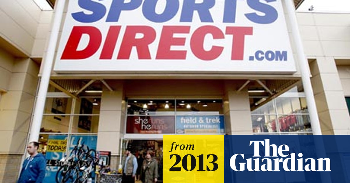 barril Desde Por el contrario  Sports Direct expands abroad with stakes in EAG and Sportland | Frasers  Group | The Guardian