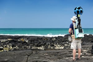 Galapagos island: Catlin Seaview Survey on land
