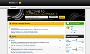 The CommSec community allows customers to share their investment portfolio.