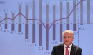 European Commissioner for Economic and Monetary Affairs Olli Rehn addresses the media at the European Commission headquarters in Brussels, Friday, May 3, 2013.