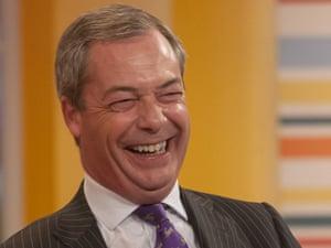 Nigel Farage on ITV's Daybreak this morning.