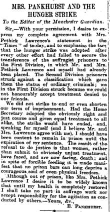 Emmeline Pankhurst 1912