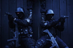 24 hours in pictures: Police special forces train to operate against drug gangs in Salvador