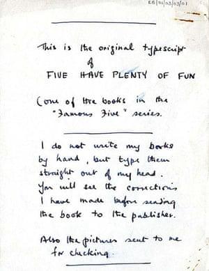 Enid Blyton: