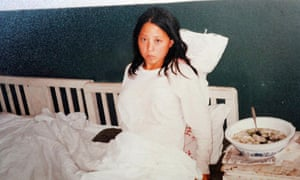 Jin Yani, who was forced to abort her baby nine months into her pregnancy.