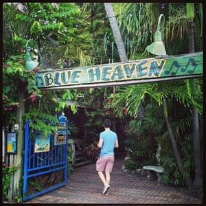 Blue Heaven for breakfast.