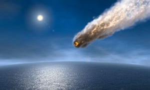 Asteroid heading for the earth