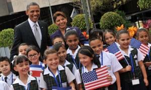 President Barack Obama's visit to Costa Rica.