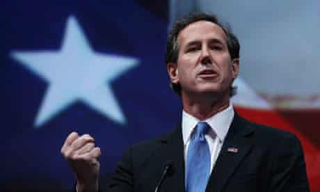 Rick Santorum at the NRA convention