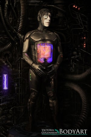 Lawrence Krauss, in Borg form