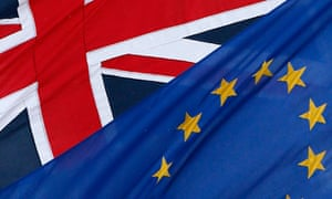 EU and Union flags outside the European commission