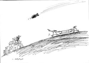 Venice Biennale: Abdul Raheem Yassir cartoon