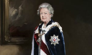 Nicky Philipps' portrait of the Queen