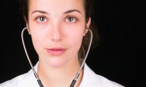 GP with stethoscope