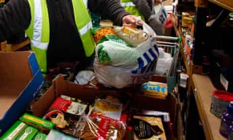 Many people 'reliant on food banks'