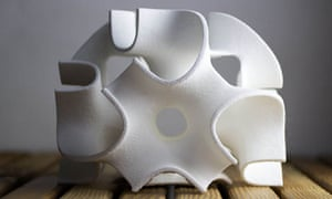 A sugar sculpture by The Sugar Lab