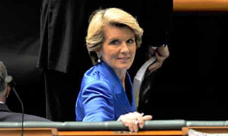 Julie Bishop in question time