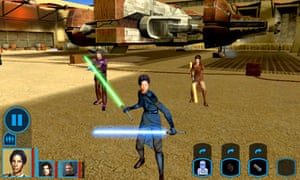 Star Wars: Knights of the Old Republic for iPad
