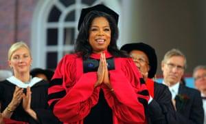 Oprah does Harvard