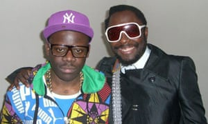 Niyi in his previous life, with will.i.am