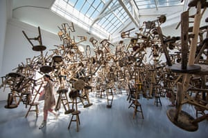 20 Photos: Bang, an installation by the Chinese artist Ai Weiwei, at the Venice Biennale
