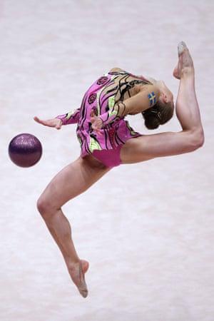 29th Rhythmic Gymnastics European Championship in  Vienna, Austria.