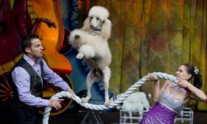 Barnum & Bailey Circus in Mexico City.