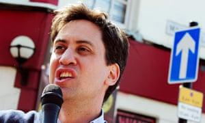 Ed Miliband in Long Eaton