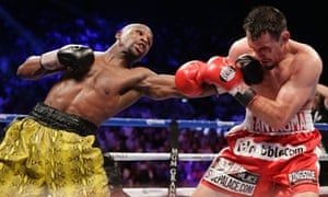 Floyd Mayweather Robert Guerrero fight