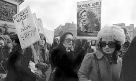 London's First Women's Liberation Demonstration
