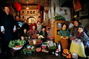 Hungry Planet: Namgay Family - Bhutan