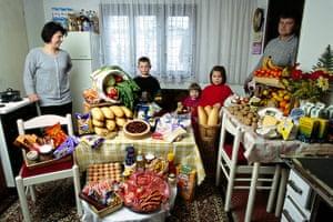 Hungry Planet: Dudo family - Bosnia