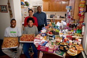 Hungry Planet: Revis Family - America
