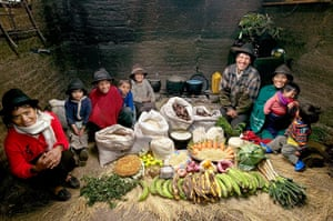 Hungry Planet: Ayme Family - Ecuador