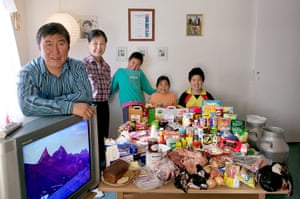 Hungry Planet: Madsen Family - Greenland